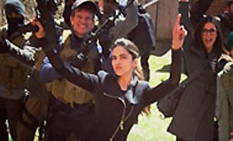 Deepika Padukone goes desi on 'xXx: The Return of Xander Cage' set
