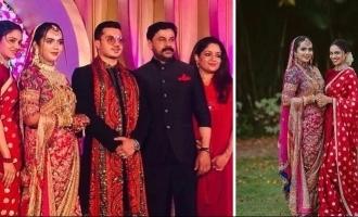 WATCH: Dileep, Meenakshi, Kavya attend the wedding of Nadirshah's daughter in style!