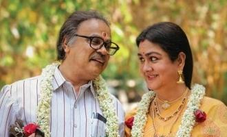 POSTER: Dileep and Urvashi celebrates their 33rd wedding anniversary!