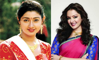 Two actress's similar life journey