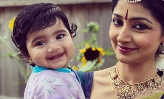 Divya Unni shares an adorable picture with her daughter