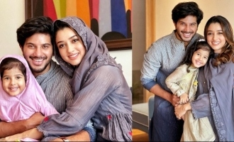Dulquer Salmaan celebrates Eid with family, Pics go VIRAL!