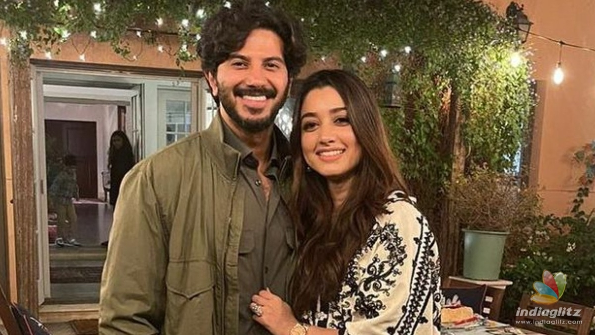 Dulquer Salmaans celebrates Eid with family, Pics go VIRAL!
