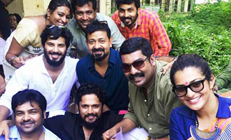Dulquer and Parvathy on Charlie sets for Thiruonam