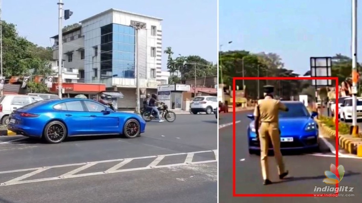 Watch: Dulquer Salmaan caught speeding on the wrong side of the road!