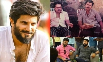Dulquer's comment on Prithviraj's picture with Mammootty goes viral