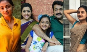VIRAL SAREE PICS: Drishyam fame Esther Anil is not a child anymore!