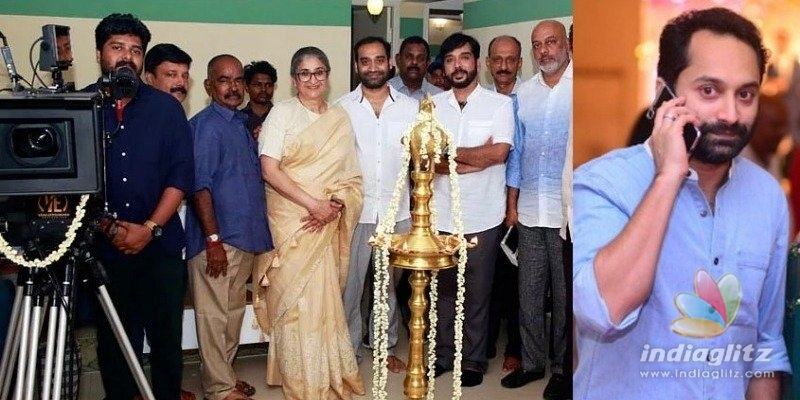 Akhil Sathyan-Fahadh Faasil movie starts rolling!