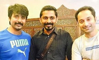 Velaikkaran second look to release on Fahadh Faasil's birthday?