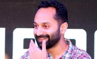 Fahadh Faasil pens a long emotional post; Viral!