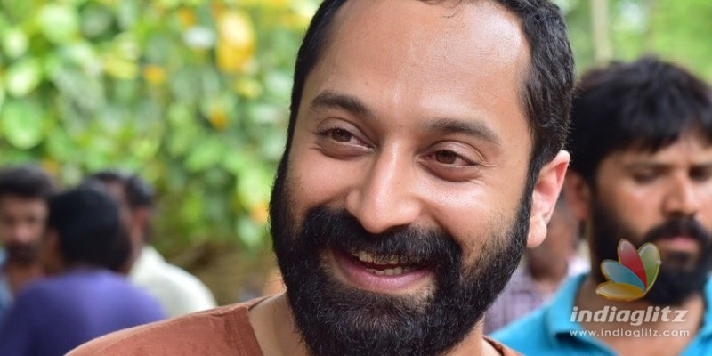 Fahadh Faasil to start dubbing for Malik