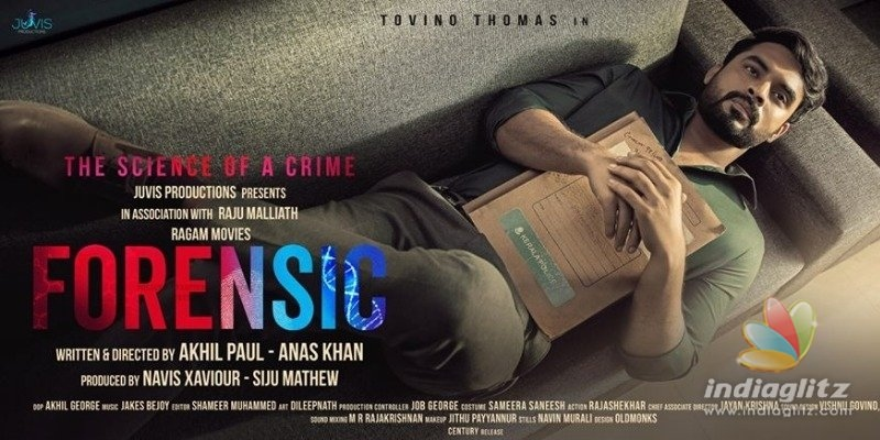 Tovino S Forensic Trailer Release Date Announced Malayalam News Indiaglitz Com