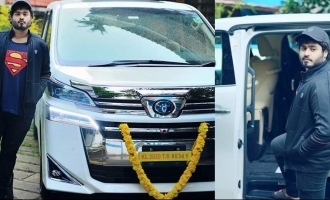 After Mohanlal, now suresh Gopi brings home a brand new luxurious car!