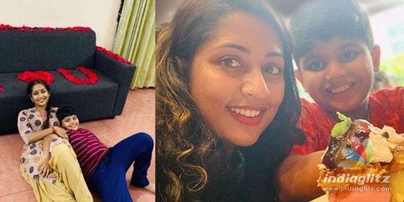 Navya Nairs son steps into cinema!