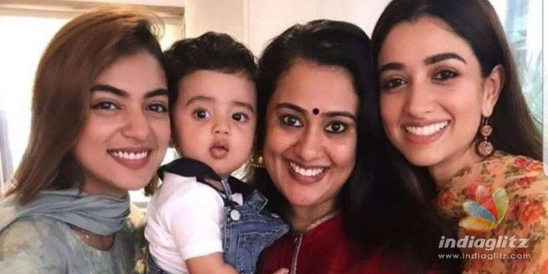 When Nazriya & Dulquers wife Amal met Chackochans son