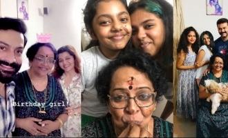Prithviraj & Indrajith celebrate their mom's birthday; Pics viral