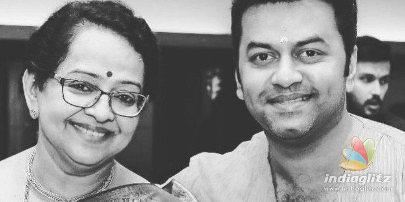 Heres how Prithvirajs mom Mallika Sukumaran celebrated her birthday with family
