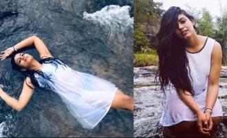Actress Ineya takes a dip in river; viral photos