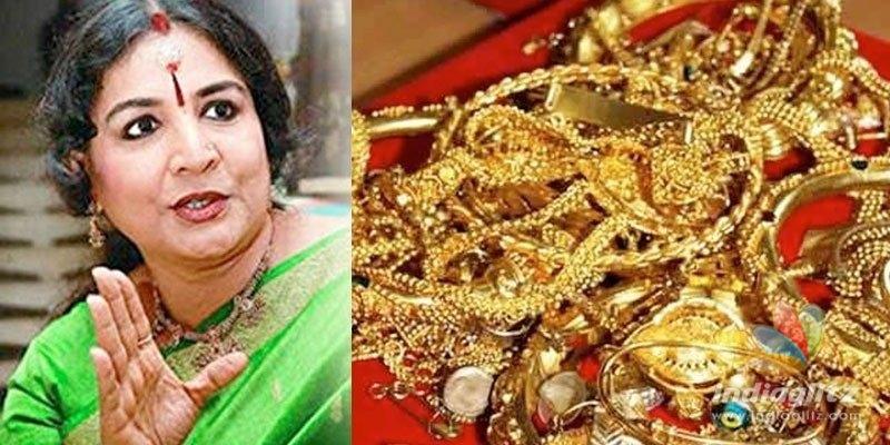 Burglary at actress Jayabharathis house