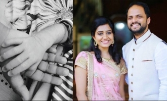 Director Jude Anthany blessed with a baby girl