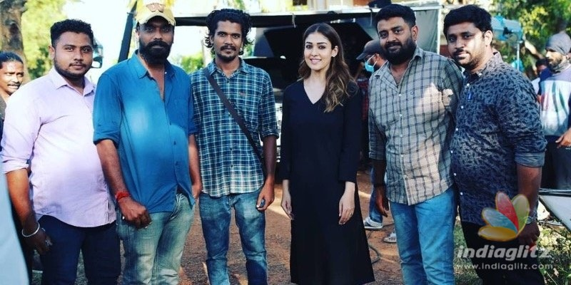 Nayantharas new picture with Kunchacko Boban and family is too cute to miss!