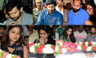 Mollywood pays last respect to Kalpana