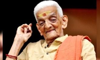Veteran actor Unnikrishnan Namboodiri turns 98
