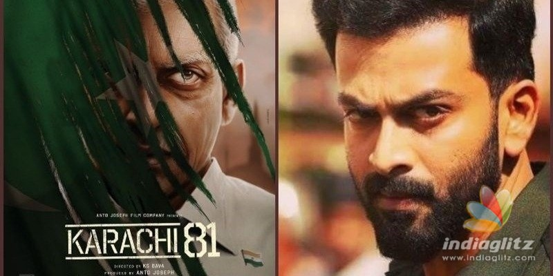 Prithvirajs Karachi 81 shoot details revealed!