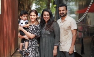 Nayanthara's new picture with Kunchacko Boban and family is too cute to miss!