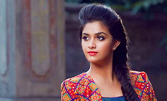 Keerthi Suresh Celebrates her Birthday in Canada