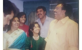 Keerthy Suresh shares her childhood photos with Mammootty
