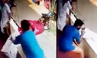Daring Video: Kerala man faints and almost falls off floor; bystander rescues