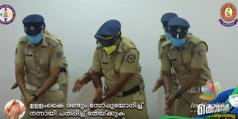 Coronavirus scare: Kerala Polices dance video is viral