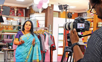 Former MLA Shobana George now turns a model