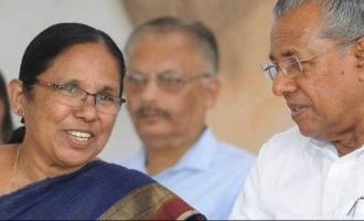 SHOCKING: Health Minister KK Shailaja removed from Kerala Cabinet