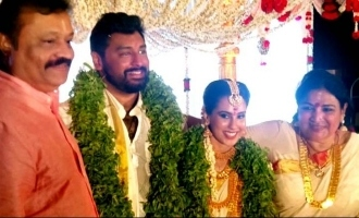 Jayabharathi's son Krish J Sathar enters wedlock