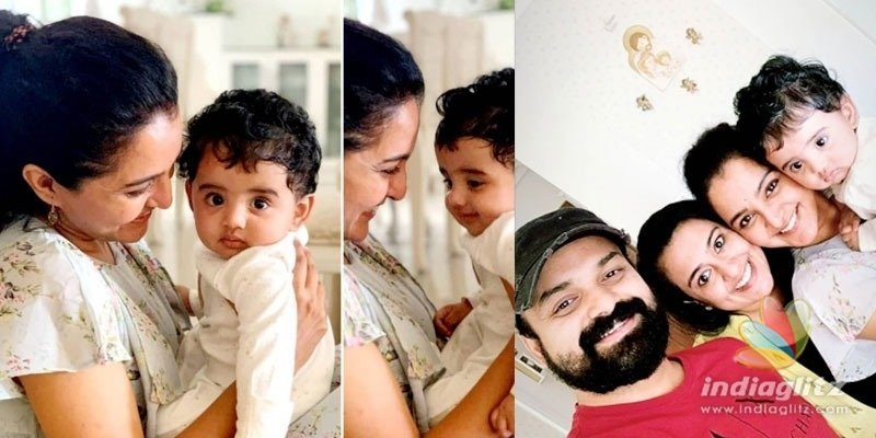 Manju Warriers playtime with Kunchacko Bobans son