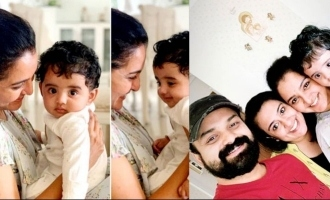Manju Warrier's playtime with Kunchacko Boban's son, VIRAL!