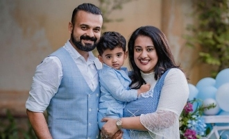 Kunchacko Boban shares an adorable picture with his son