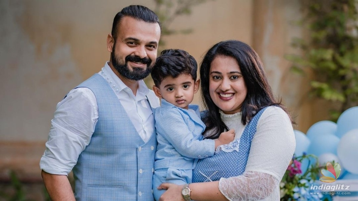 Kunchacko Boban shares an adorable picture with son