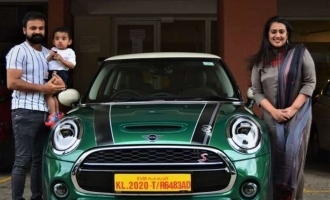 Kunchacko Boban brings home a SPECIAL luxurious car!