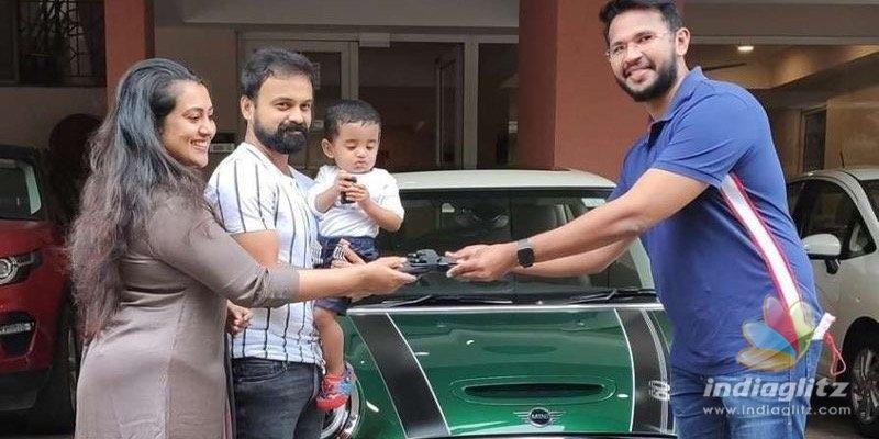 Kunchacko Boban brings home a SPECIAL luxurious car!