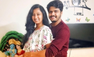 Neelakkuyil serial actress announces her pregnancy