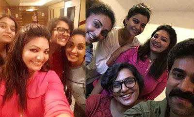 Parvathy, Swathy Reddy enjoy Lijo's bachelorette party