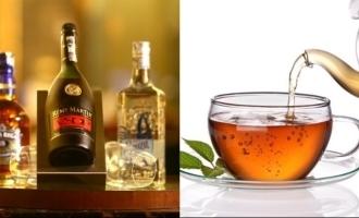 SHOCKING: Black tea sold in liquor bottle for Rs 900