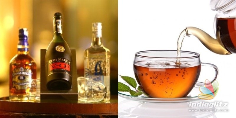 SHOCKING: Black tea sold in liquor bottle for Rs 900