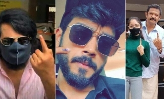 Kerala elections 2021: Mollywood celebs cast their vote, See pics