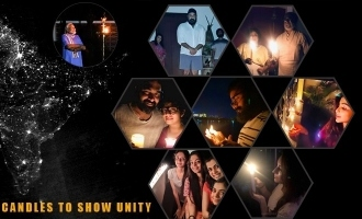 9pm 9minutes: When Malayalam actors lit up candles to show unity