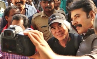 Mammootty shares DSLR selfies with iconic photographer!