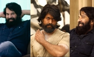 Fans call Mammootty the BIG brother of KGF Rocky